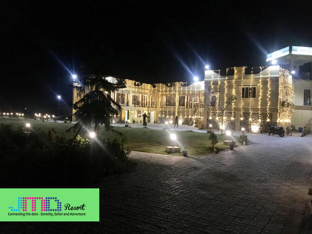 jmd resort background night view